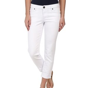 KUT FROM THE KLOTH white Catherine Boyfriend fit 6